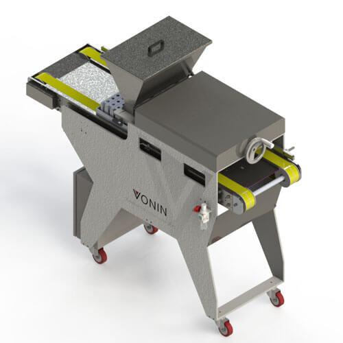 Vista superior traseira da Máquina Dosadora Automática MaxFill