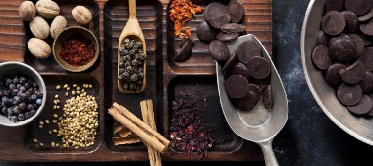 ingredientes para fazer chocolate