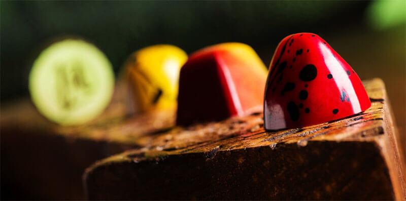 produção de chocolates norman love confections