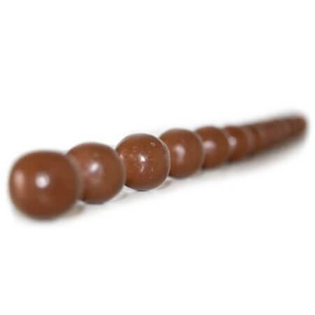 bolitas de chocolate templado estandarizados