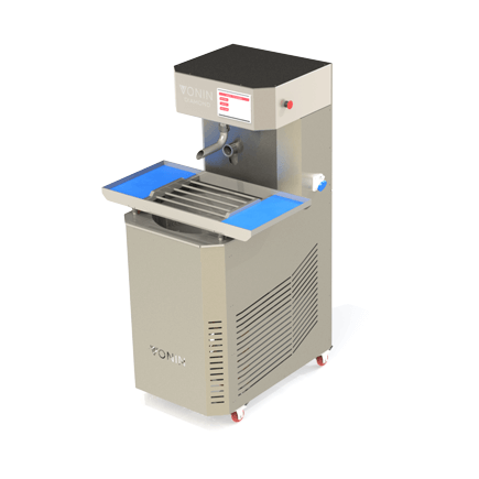 chocolate melter, temper, enrober diamond t50 with vibrating table module