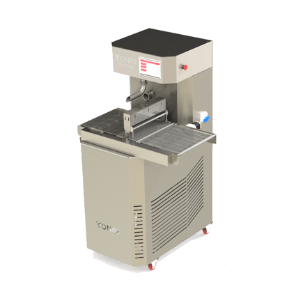 chocolate melter, temper, enrober diamond t50 with enrobing module