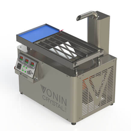continuous chocolate tempering machine crystal t10