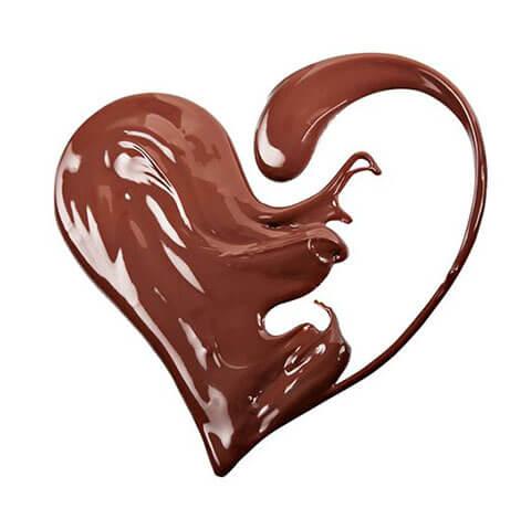 corazon chocolate